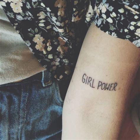 girl power tattoo 17 best ideas about power on grl