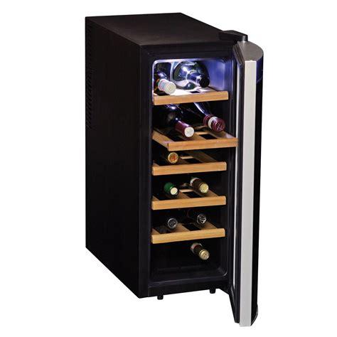 wine refrigerator koolatron koolatron 12 bottle single zone wine