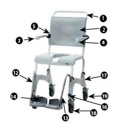 aquatec chair replacement parts