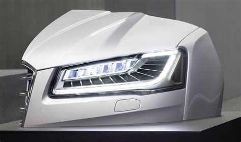 audi headlights in there s a bright idea audi working to combine matrix beam