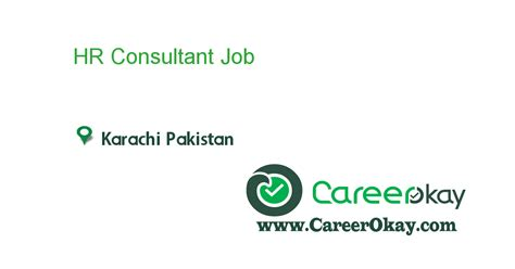 Mba Hr Subjects In Pakistan by Hr Consultant In In Karachi Pakistan