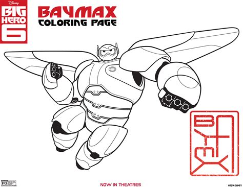 free coloring pages of gogo in big 6