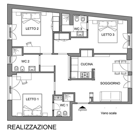 piantina di un appartamento pianta di un appartamento