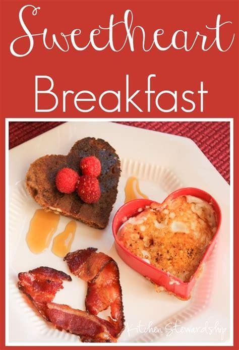 valentines day breakfast s day shaped breakfast