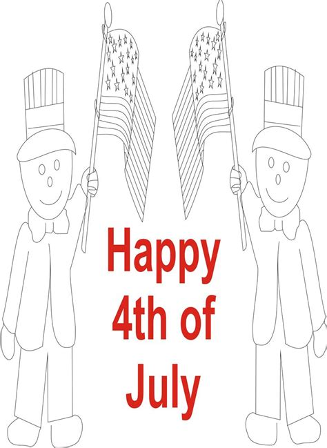 fourth of july coloring pages pdf july 4th printable coloring page for kids 4