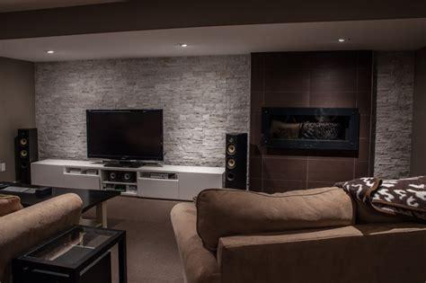 Hansen Modern Basement toronto by Allen Interiors & Design Center Inc