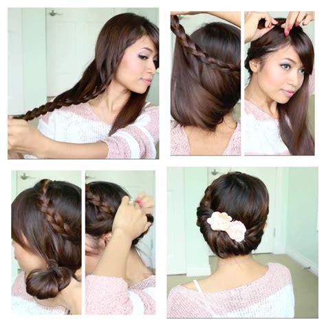 bebexo hairstyle fold over lace braid updo hairstyle bebexo bebexo