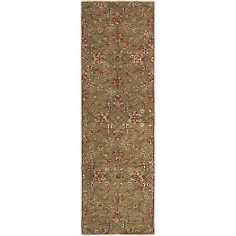 home depot wool area rugs artistic weavers vaire gold wool runner 2 ft 6 in x 8 ft area rug the home depot canada