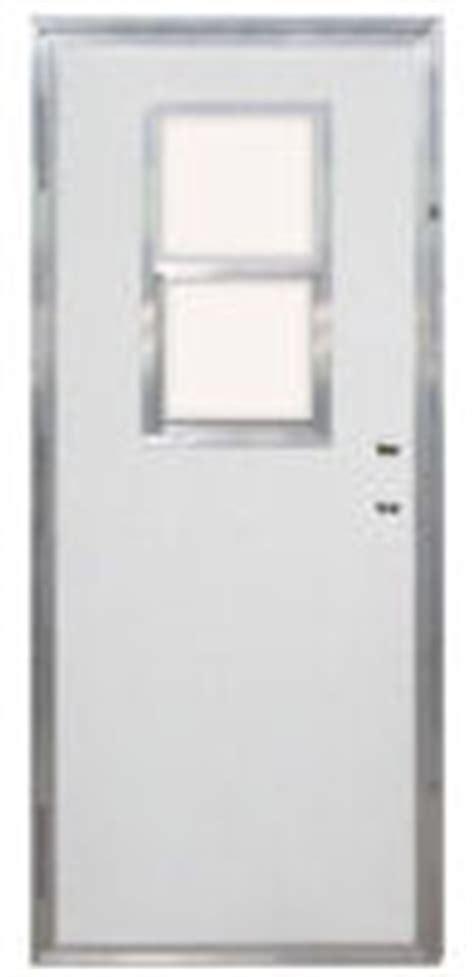 32 X 74 Exterior Door 32 Quot X 74 Quot Kinro Combination Exterior Door With 9 Lite Window And White Self Storing