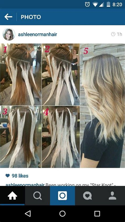 sectioning hair for highlights 25 best ideas about hair painting highlights on pinterest