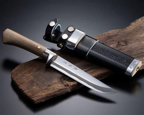 Japanese Damascus Kitchen Knives japanese hunting knife
