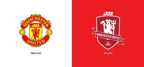 design icon manchester manchester united redesign on student show