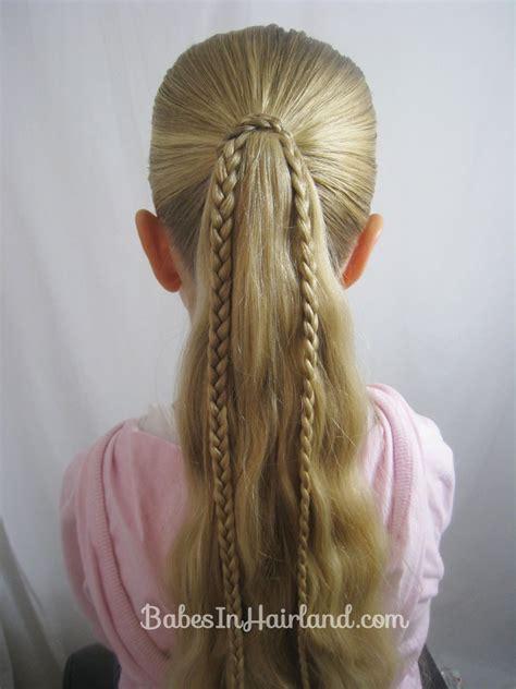 Straight Up Hairstyles Braids