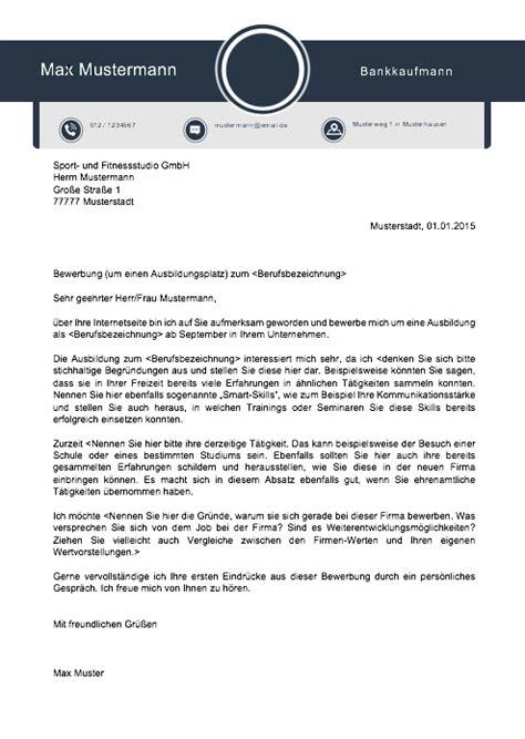 Anschreiben Praktikum Bankkaufmann bewerbungsvorlagen und muster 2018 meinebewerbung net