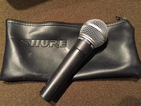 Shure Sm 58 Original shure sm58 dynamic vocal microphone w original box reverb
