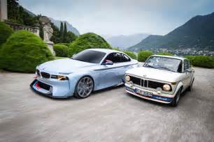 Bmw 2002 Concept Bmw 2002 Hommage Concept Meets The Bmw 2002 Turbo