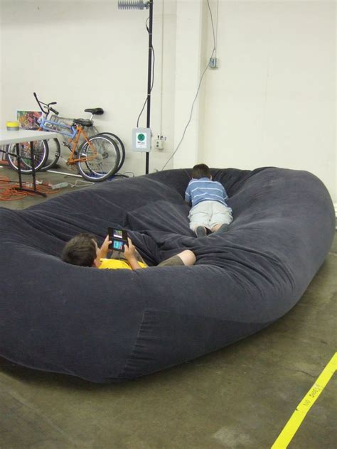 giant bean bag bed bean bag sofa bed