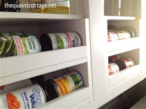 Diy Pantry Can Organizer by Diy Can Storage Tutorial Kitchen And Pantry