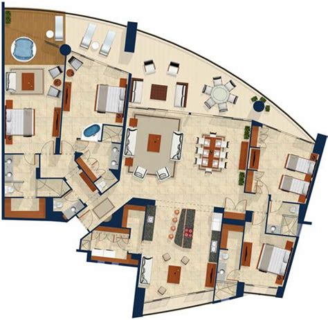 luxury penthouse floor plan penthouses luxury floor plans and high rise apartments on