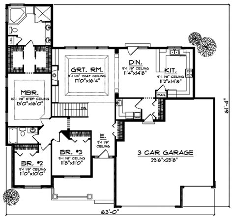single story house plans without garage 1 story house plans without garage single story house
