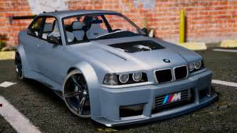 bmw m3 e36 v8 biturbo add on tuning gta5 mods