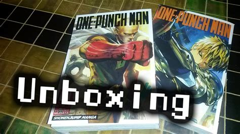 punch vol 1 books unboxing one punch volumes 1 and 2