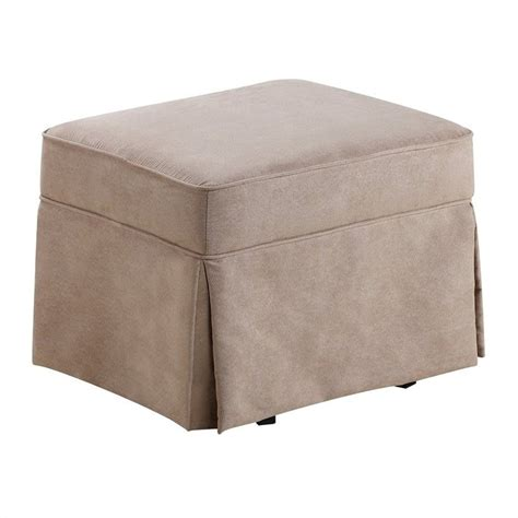 Swivel Glider With Ottoman Swivel Glider And Ottoman Set Microfiber Wm6009sgo M