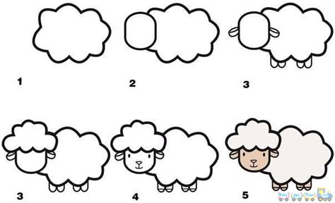 tutorial menggambar fauna drawing yourself 20 very simple animal pics