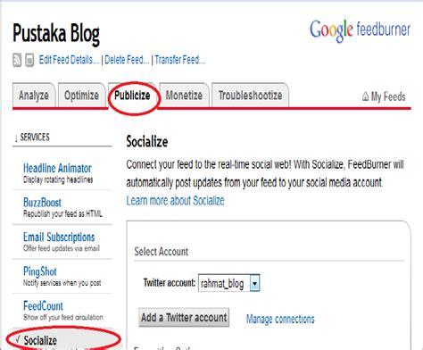 membuat blog otomatis cara membuat postingan blog otomatis masuk ke facebook dan