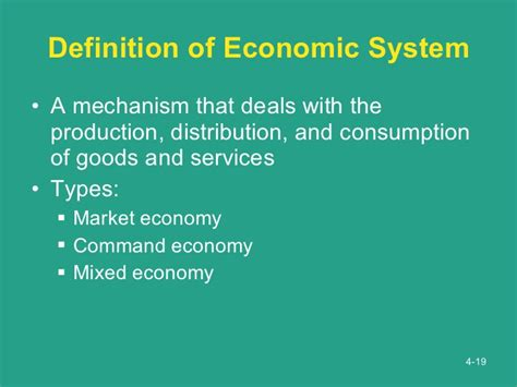 define systemize economic environment