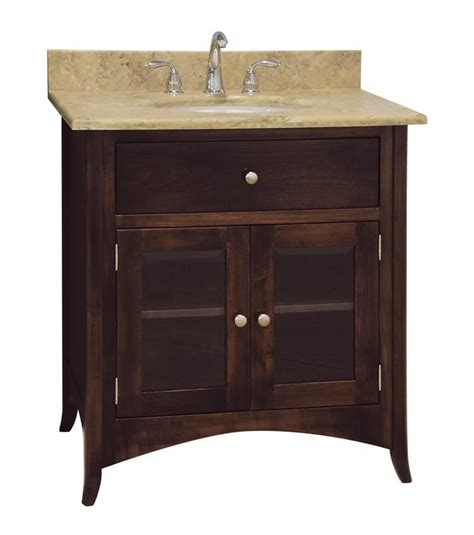 amish bathroom vanity cabinets amish 33 quot santa barbara single bathroom vanity cabinet