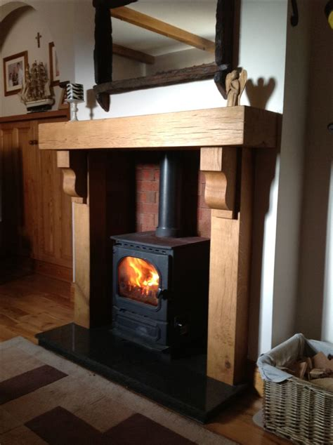 Log Burner Fireplace Surrounds by 1000 Ideas About Fireplace Surrounds On