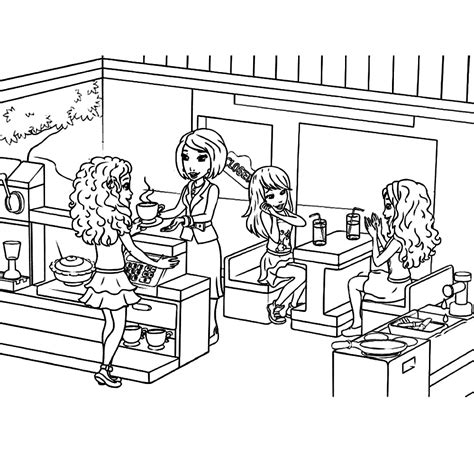 coloring pages lego friends print this lego friends coloring sheet christine
