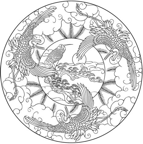 Nature Mandala Coloring Pages welcome to dover publications