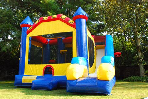 the bounce house combo bounce house obstacle course rental on long island thebigbouncetheory com