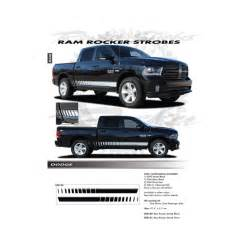 dodge ram 1500 truck 2009 2018 rocker strobe decals