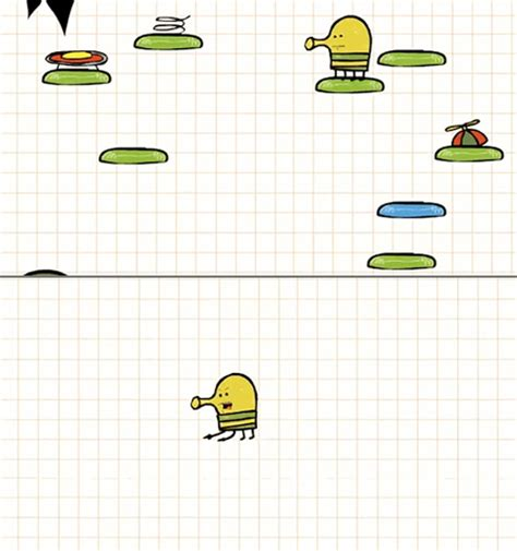 how to do well in doodle jump what really happens when you fall in doodle jump