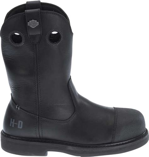 ladies black motorcycle boots harley davidson men s manton waterproof black motorcycle