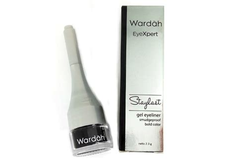 Review Eyeliner Gel Wardah review wardah eyeliner staylast gel yukcoba in