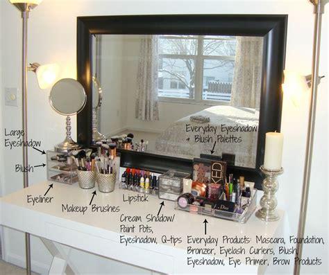 organized vanity vanity organization lalalala diy blahhhh pinterest
