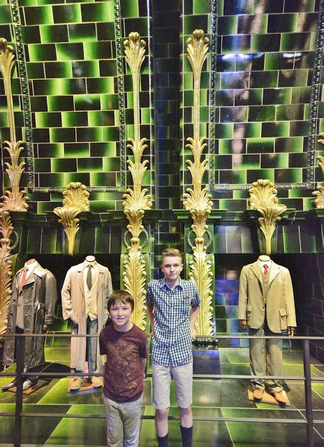 magical travel boy with 4 boys warner brothers studio tour a