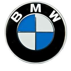 Bmw Badge Bmw Blue White Logo 82mm Boot Bonnet Emblem Badge
