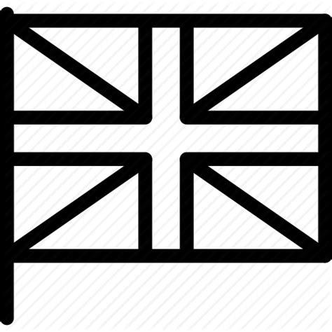 United Kingdom Outline Flag by Creative Culture Currency Fly Grid Heritage Hoist Kingdom Line Map National