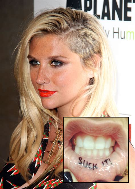 kesha tattoos kesha tattoos tattooed