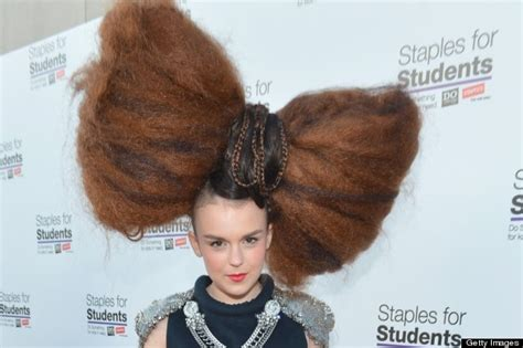 The Biggest Hair Bun In The World | move over lady gaga teen singer tallia storm has the