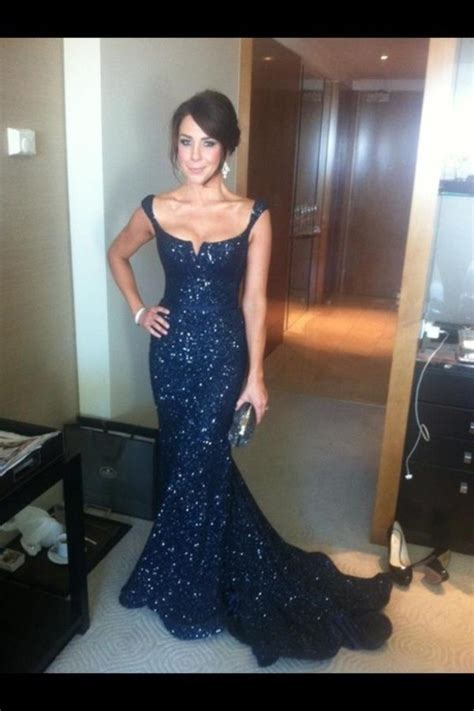 Aliexpress.com : Buy Kate Ritchie Scoop Neck Navy Sequins