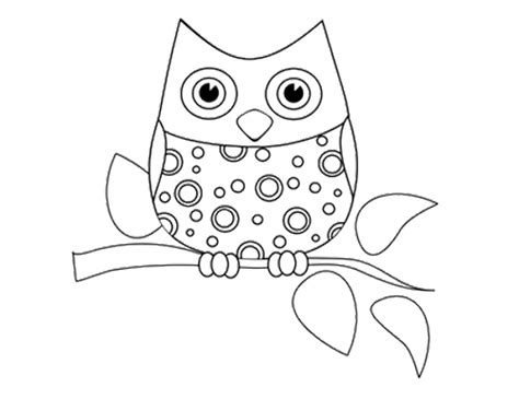 coloring pages of big owl funny little owl coloring page coloring pinterest