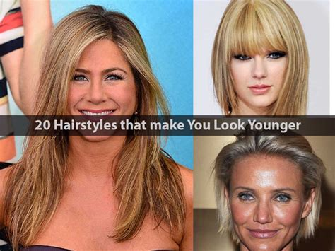 hairstyles to make you look younger over 50 hairstyles for 50 to make you look younger hairstyles to