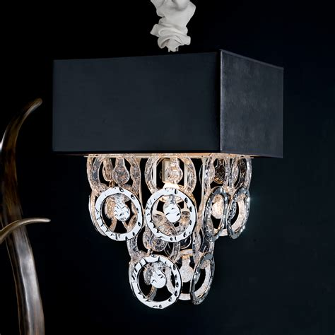 Handmade Ceiling Lights - luxury silver handmade glass ceiling light