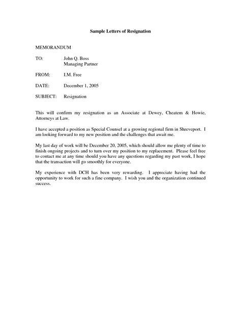 6 formal letter resignation letter sample martini pink